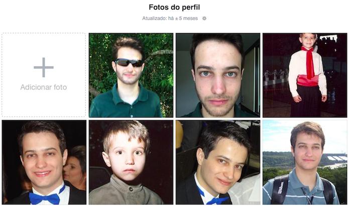 Abra a foto que você quer usar no perfil (Foto: Reprodução/Helito Bijora)