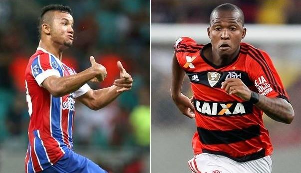 Bahia e Flamengo se enfrentam pelo Brasileirão (Foto: Divulgação)
