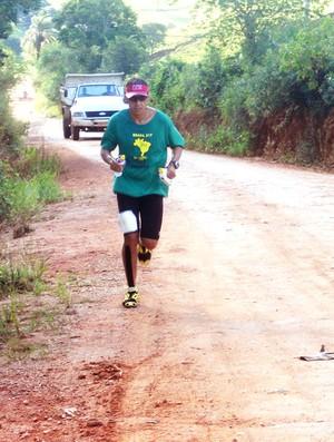 Fábio Rodrigo ultramaratona corrida (Foto: Divulgação / Arquivo Pessoal)