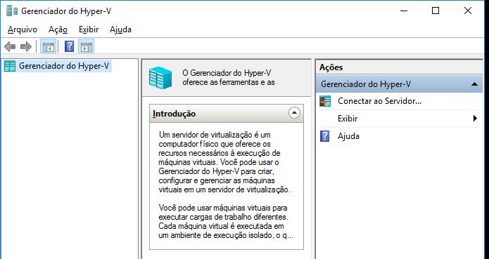 Descubra como ativar o Hyper-V no Windows 10 (Foto: Reprodução/Edivaldo Brito)