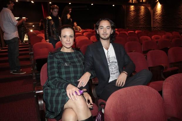 Vanessa Gerbelli e Gabriel Falcão (Foto: Isac Luz / EGO)