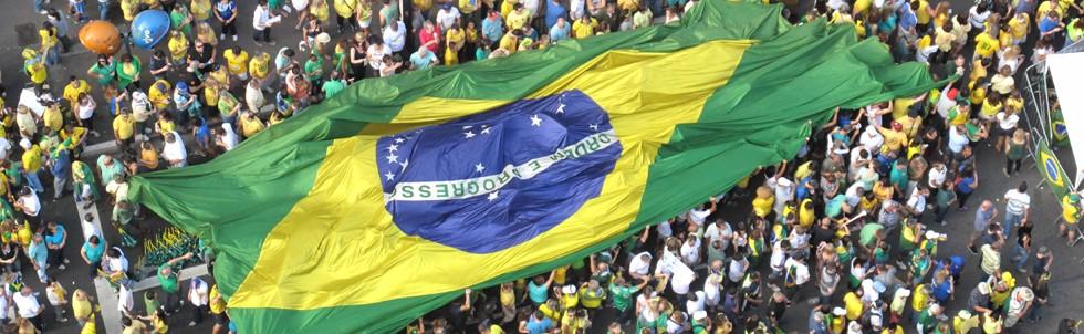 Manifestação anti PT e anti Dilma na Avenida Paulista (Foto: Rogério Cassimiro/ÉPOCA)