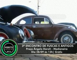 Exposição de Carros em Foz do Iguaçu (Foto: Divulgação/ RPC TV)