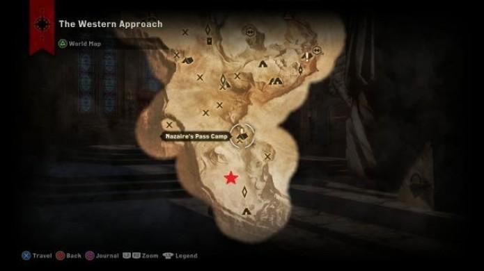 Localização do terceiro dragão em Dragon Age Inquisition (Foto: Reprodução/iDigital Times)