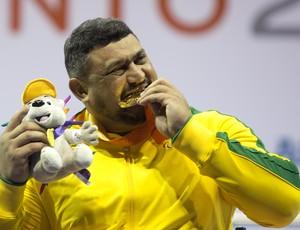 Joseano Felipe - atleta paralímpico - medalha de ouro halterofilismo - Parapan Toronto 2015 (Foto: Fernando Maia/MPIX/CPB)