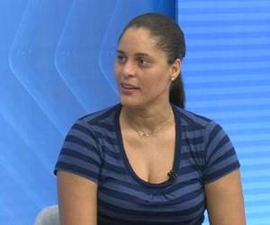 Mônica, zagueira ex-seleção brasileira (Foto: Reprodução/EPTV)