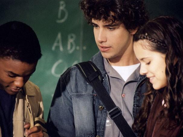 Darlan Cunha, Sophia Reis e Renan Gioelli integraram o elenco jovem do filme (Foto: Divulgação / Reprodução)