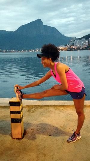 EuAtleta Sheron Menezes_690_b (Foto: Eu Atleta | Arte | fotos: arquivo pessoal)