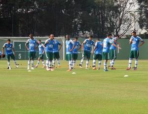 Jogadores Reservas do Palmeiras (Foto: Diego Ribeiro / Globoesporte.com)
