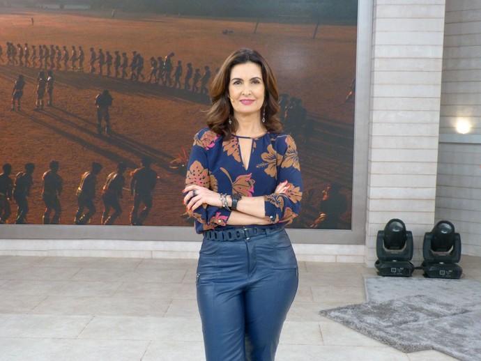 Fátima quer a sua participação no 'Encontro' (Foto: Vinícius Cunha/Gshow)