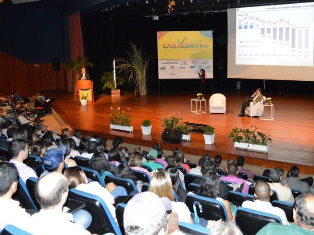 Canacentro está sendo em Campo Grande, Mato Grosso do Sul nesta quinta e sexta-feira (Foto: Anderson Viegas/G1 MS)