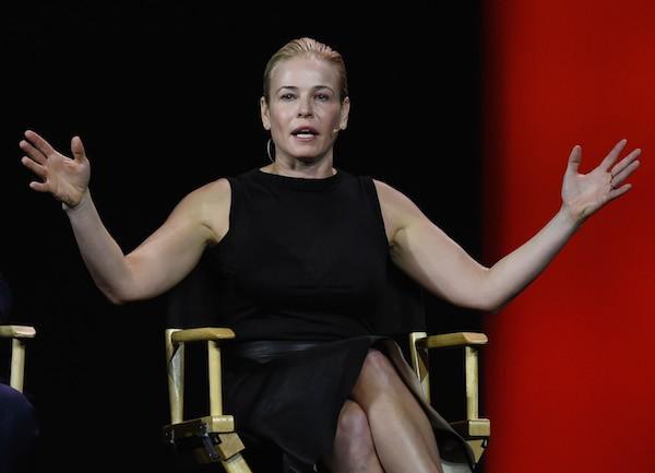 A apresentadora Chelsea Handler (Foto: Getty Images)