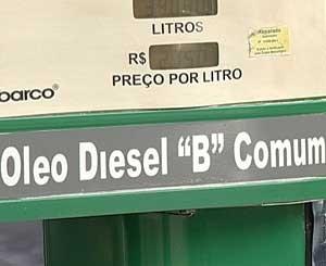 Óleo diesel mais caro gera reflexos em diversos setores da economia (Foto: Reprodução/TV Integração)