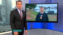 Passagem da Chama Olímpica por Prudente é destaque no Bom Dia SP (Reprodução Globo)