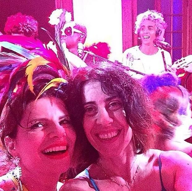 Débora Bloch e Fernanda Torres (Foto: Reprodução / Instagram)