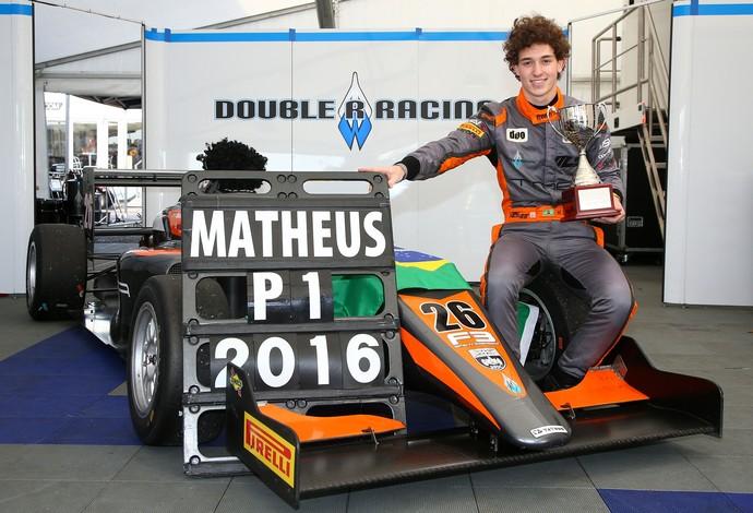 Matheus Leist foi campeão da F-3 inglesa  (Foto: Divulgação/F-3 Inglesa)