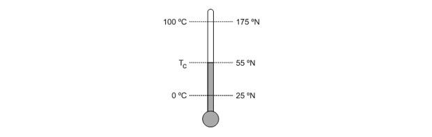 Questão de termometria (Foto: Reprodução)