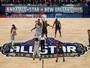 Diversão ou jogo pra valer? Falta de seriedade no All-Star levanta debate