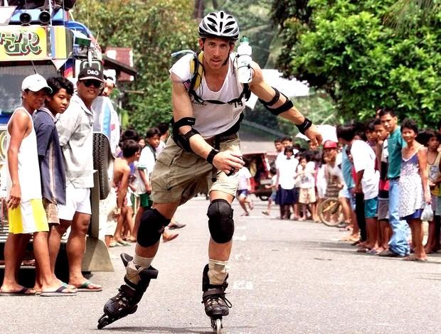 Paul Romero corrida de aventura  (Foto: AFP)