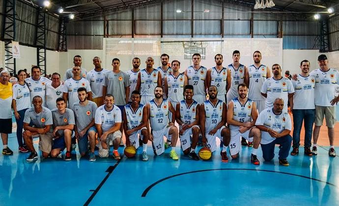 São José Basquete Jogos Abertos Barretos (Foto: Arthur Marega Filho/ PMSJC)