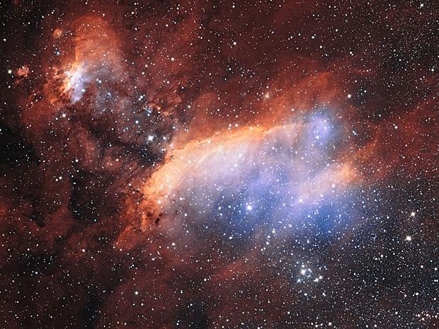 Nebulosa do Camarão (Foto: Martin Pugh/ESO)