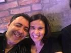 'Surto de Cláudia Rodrigues foi ansiedade em trabalhar', diz amigo