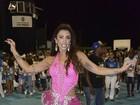 Jaque Khury exibe bumbum durinho durante ensaio de carnaval