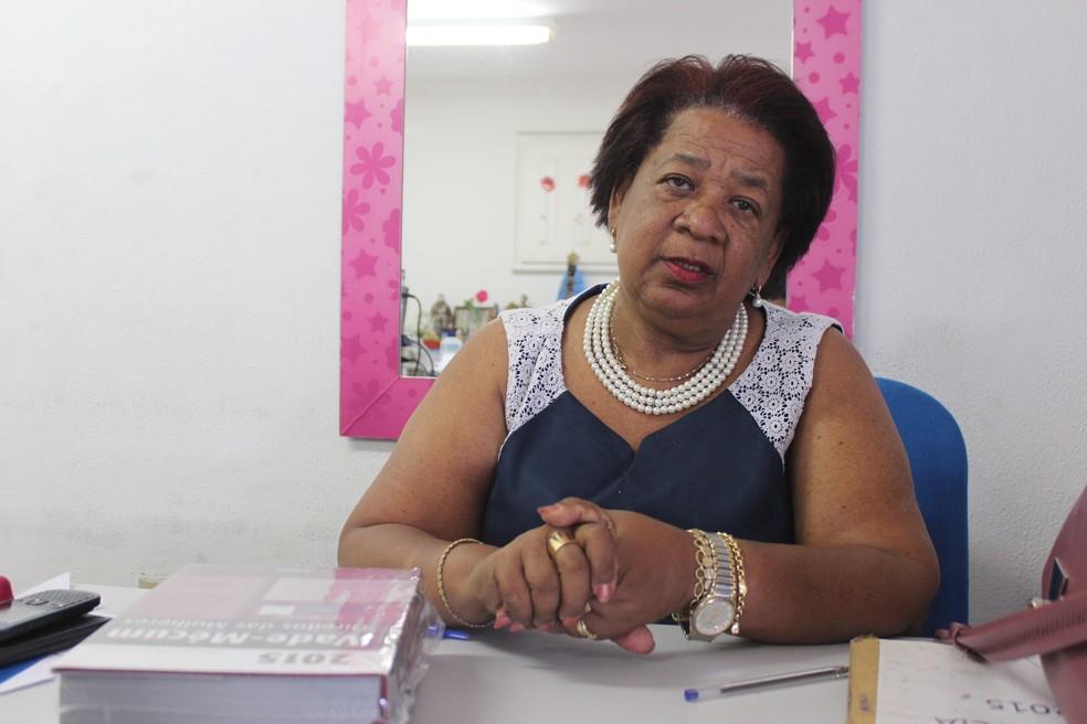 Delegada Vilma Alves investiga caso de assédio sexual e tentativas de estupro na UFPI (Foto: Catarina Costa / G1)
