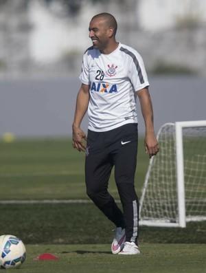 Emerson Sheik treino Corinthians (Foto: Daniel Augusto Jr/Ag. Corinthians)