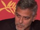 George Clooney diz que Trump não será presidente e critica a imprensa