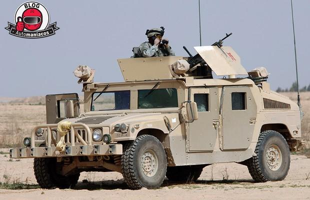 Exército norte-americano leiloa Humvees (Foto: Divulgação)