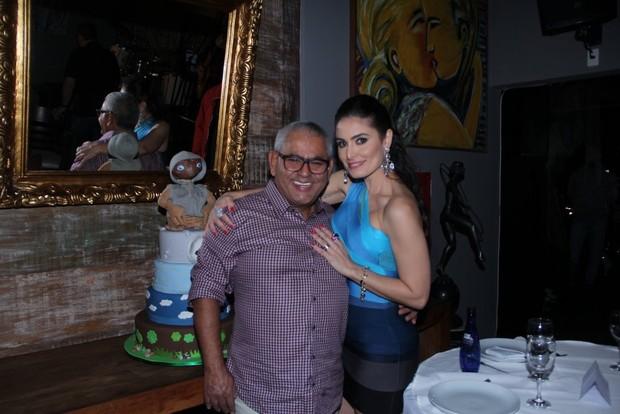 Jaider Soares e Franciely Freduseski (Foto: Rodrigo dos Anjos)