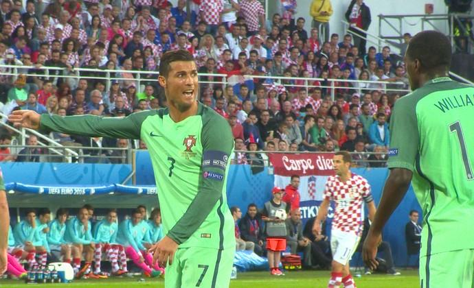 Cristiano Ronaldo Portugal x Croácia (Foto: Ivan Raupp)