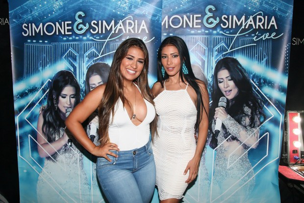 Simone e Simaria (Foto: Manuela Scarpa e Marcos Ribas/Brazil News)