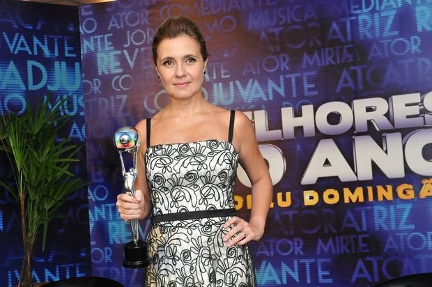 Adriana Esteves: melhor atriz (Foto: Roberto Teixeira/EGO)