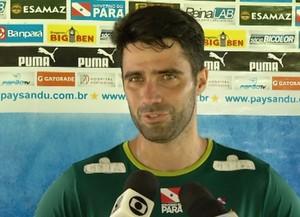 Lacerda é o novo zagueiro do Paysandu (Foto: Reprodução / TV Liberal)