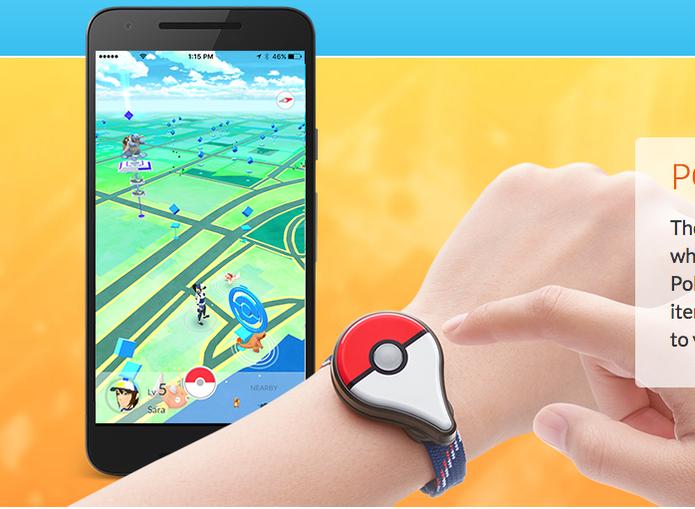 Pokémon Go Plus (Foto: Reprodução/Felipe Vinha)
