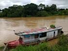 Nível do Rio Acre segue baixando em Rio Branco, segundo Defesa Civil
