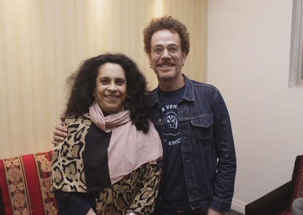Gal Costa e Nando Reis  (Foto: Bruno Trindade)