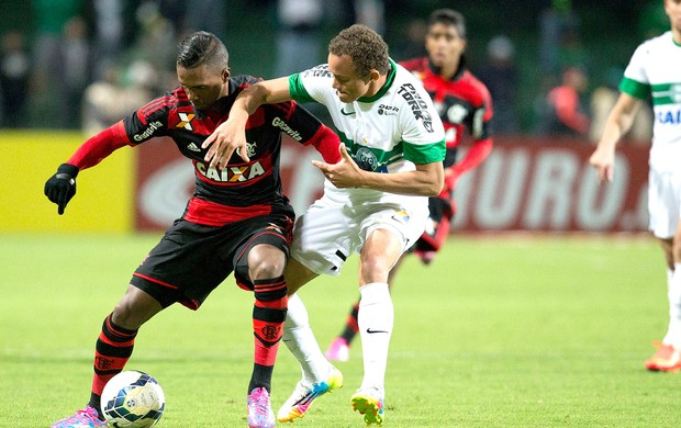 Luiz Antonio jogo Coritiba x Flamengo Copa do Brasil (Foto: Hedeson Alves / VIPCOMM)