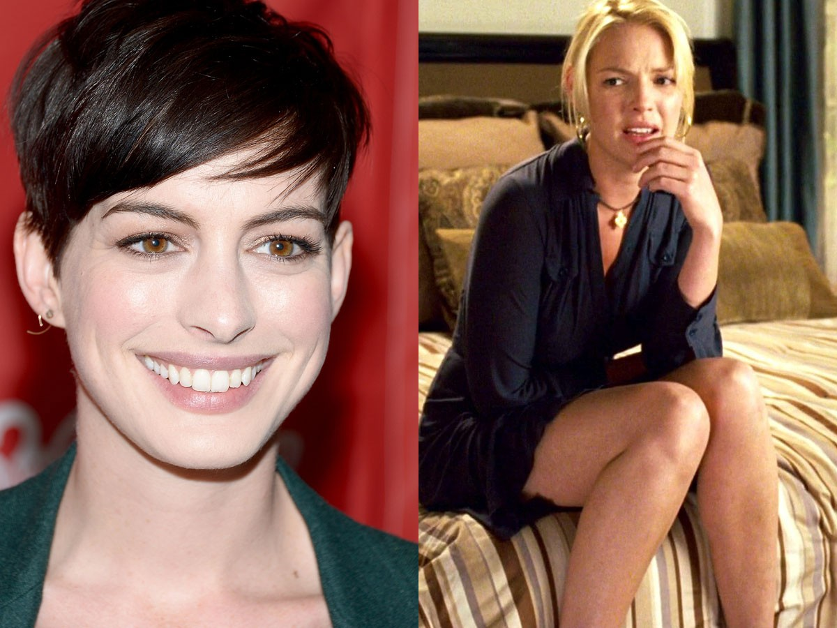 Anne Hathaway e Katherine Heigl (Foto: Getty Images)