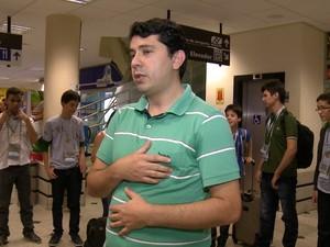 Professor Amaral diz que resultado é da dedicação de todo o grupo (Foto: Reprodução/TV Clube)