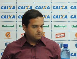 Julio Rondinelli gerente futebol Avaí (Foto: João Lucas Cardoso)