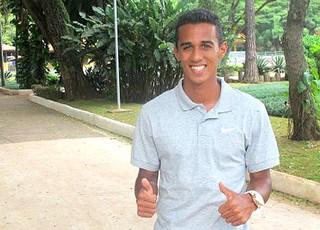 Juninho, lateral do Palmeiras (Foto: Diego Ribeiro / GLOBOESPORTE.COM)