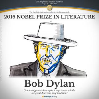 Bob Dylan é anunciado como vencedor do Prêmio Nobel de Literatura 2016 (Foto: Reprodução)