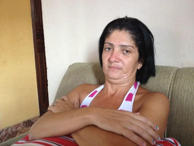 A vida de Wanderlea se transformou depois do vídeo de Rio das Ostras (Foto: Cristina Indio do Brasil/ G1)