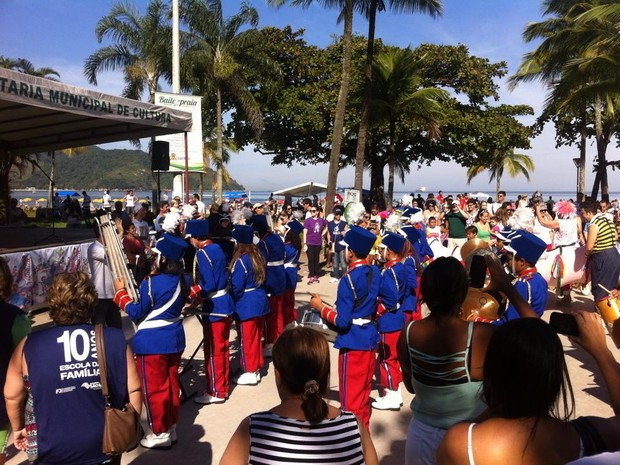 Música abriu a Semana Municipal do Brincar em Santos  (Foto: Foto: Márcia Calçada/Arquivo Pessoal)