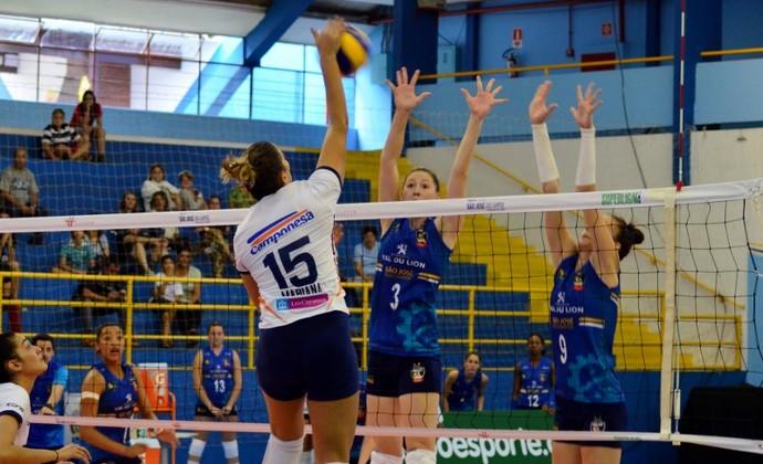 Mari Paraíba Minas x São José Superliga (Foto: Danilo Sardinha/GloboEsporte.com)