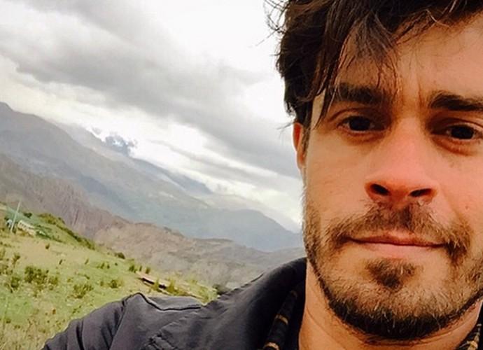 Erom Cordeiro na Bolívia (Foto: Arquivo pessoal)