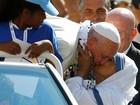 Papa recebe missionários na véspera da canonização de Madre Teresa